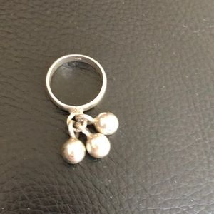 Mid Century Modern sterling silver ring size 9